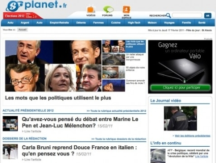 Planet.fr, un senior de l'information en ligne